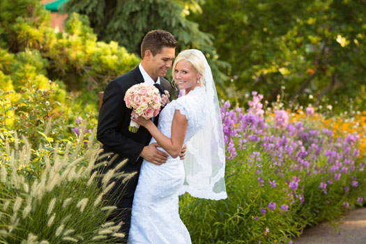 A Garden Wedding in Utah