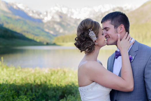 A Natural & Organic Wedding in Vail, Colorado