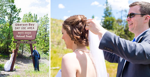 Dillon Lake Elopement, Dillon Colorado