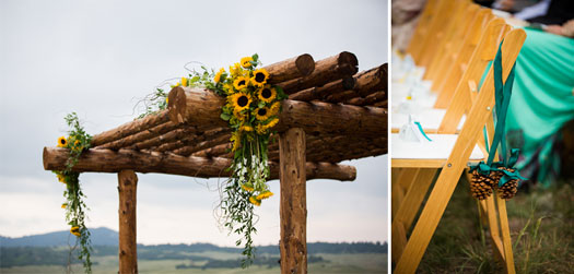 Spruce Mountain Ranch Fall Wedding