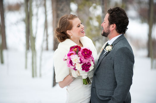 A Winter Destination Wedding in Colorado
