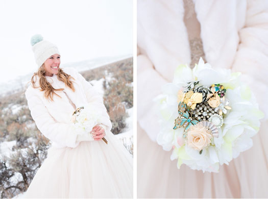 An Intimate Winter Wedding In Jackson Wyoming