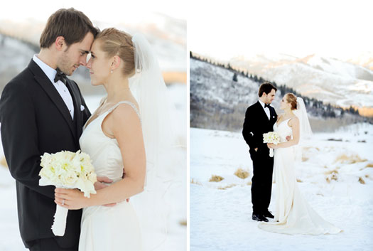 An Intimate New Year's Eve Wedding in Park City, Utah