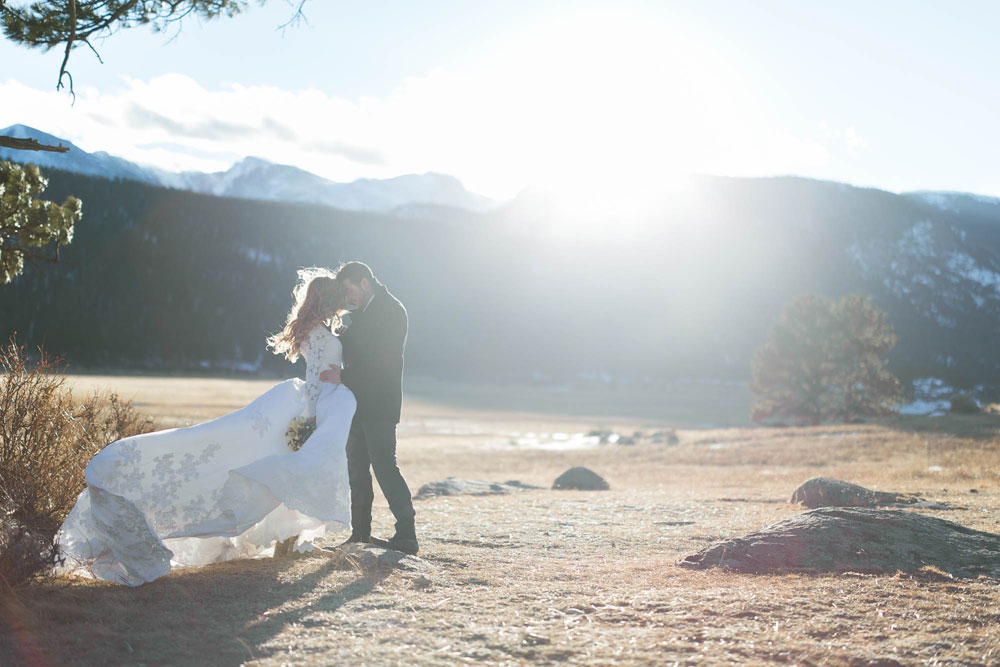 A Love Shoot In The Aspens At Rocky Mountain National Park