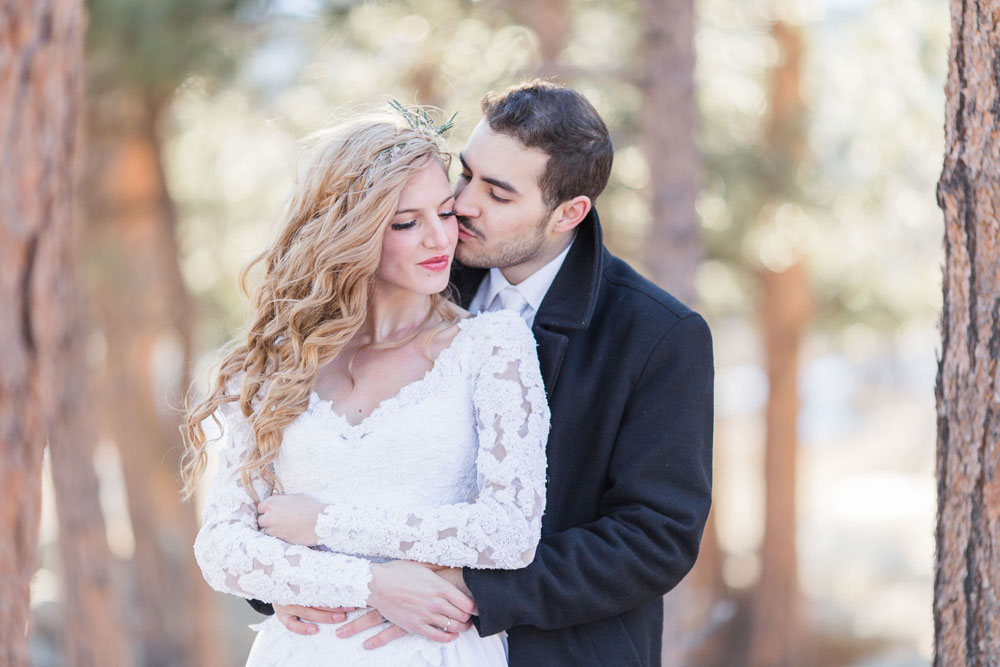 A Styled Love Shoot in the Aspens at Rocky Mountain National Park, Colorado