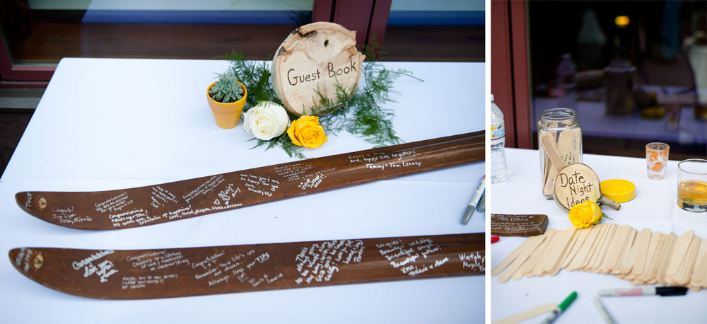 A Modern Vail Mountain Wedding on the Vail Wedding Deck