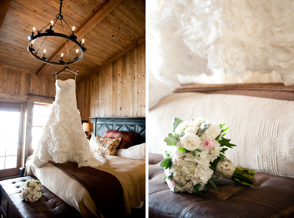 Simple Mountain Elegance Wedding at Devil's Thumb Ranch, Colorado