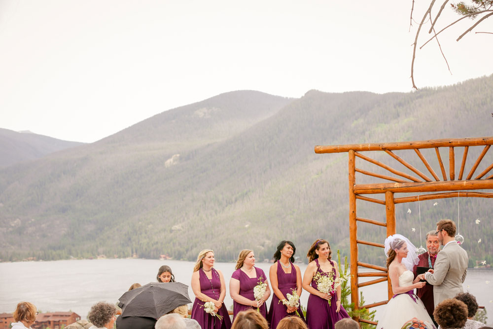 A Rocky Mountain Wedding with Purple Butterflies, Grand Lake Colorado