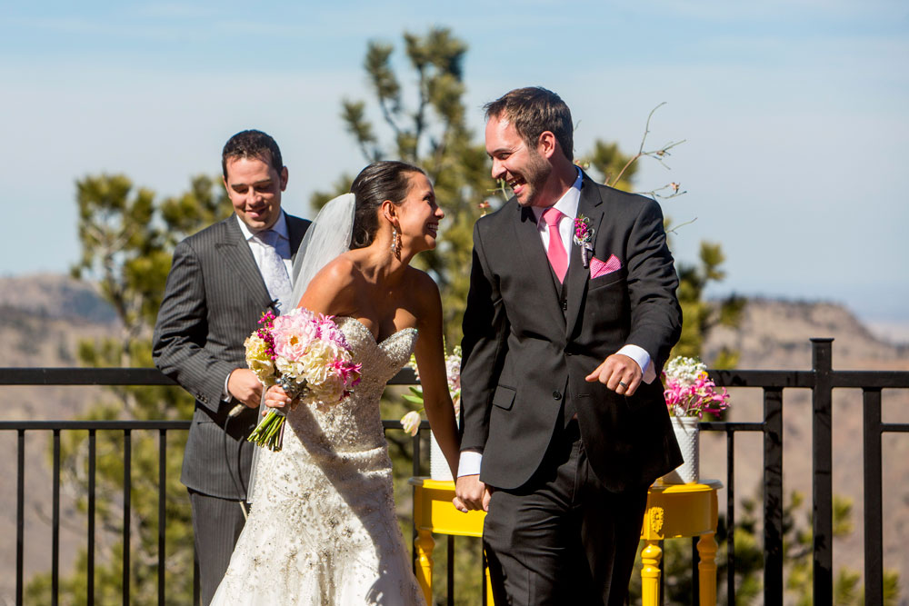 A Modern Pink Spring Wedding in Denver, Colorado