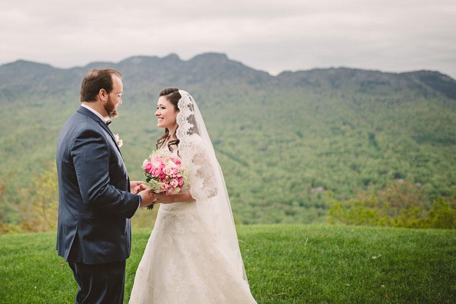 North Carolina Wedding in the Mountain