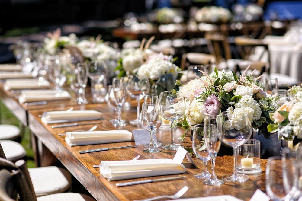 A Rustic Vineyard Wedding in California