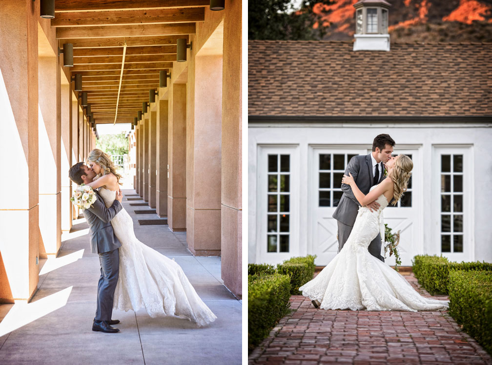 A Rustic Vineyard Wedding in California