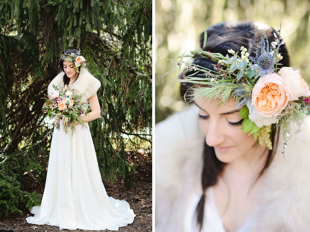 Dreamy, whimsical, romantic Bohemian Wedding Shoot in Asheville