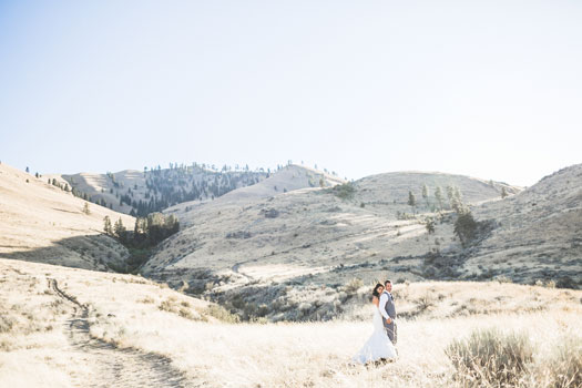 Casual Wedding on Lake Chelan, Washington