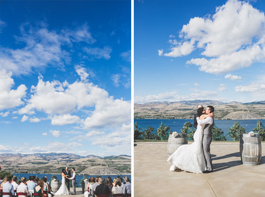 Casual Wedding on Lake Chelan, Washington