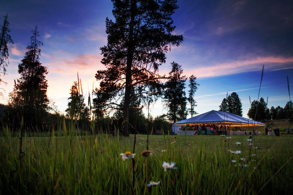 An Elegant Ranch Wedding in Montana