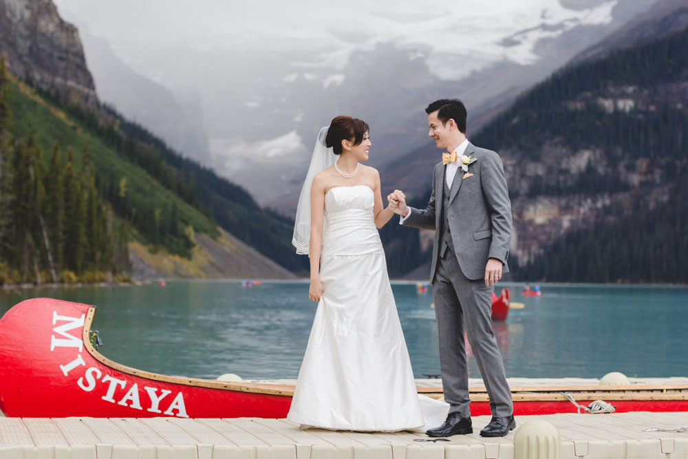 Destination Wedding Lake Louise, Alberta, Canada