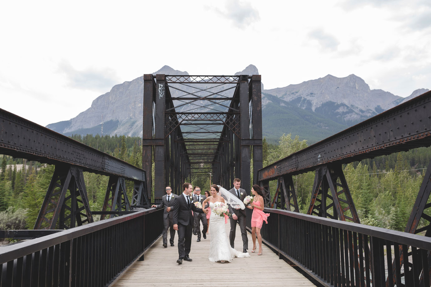 A Summer Wedding in the Candian Rockies