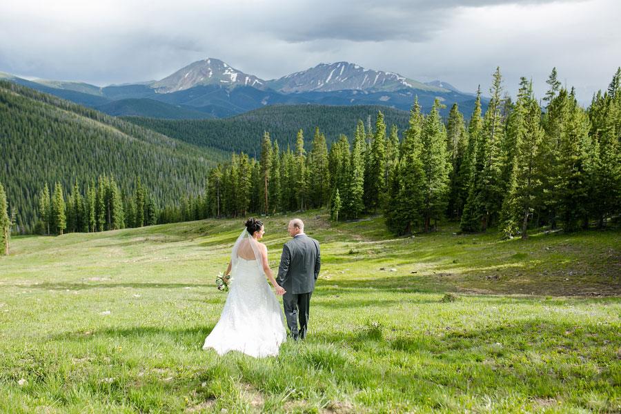 A Travel Themed Wedding in Keystone