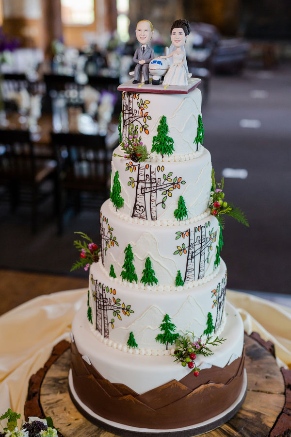 A Travel Themed Wedding in Keystone, Colorado