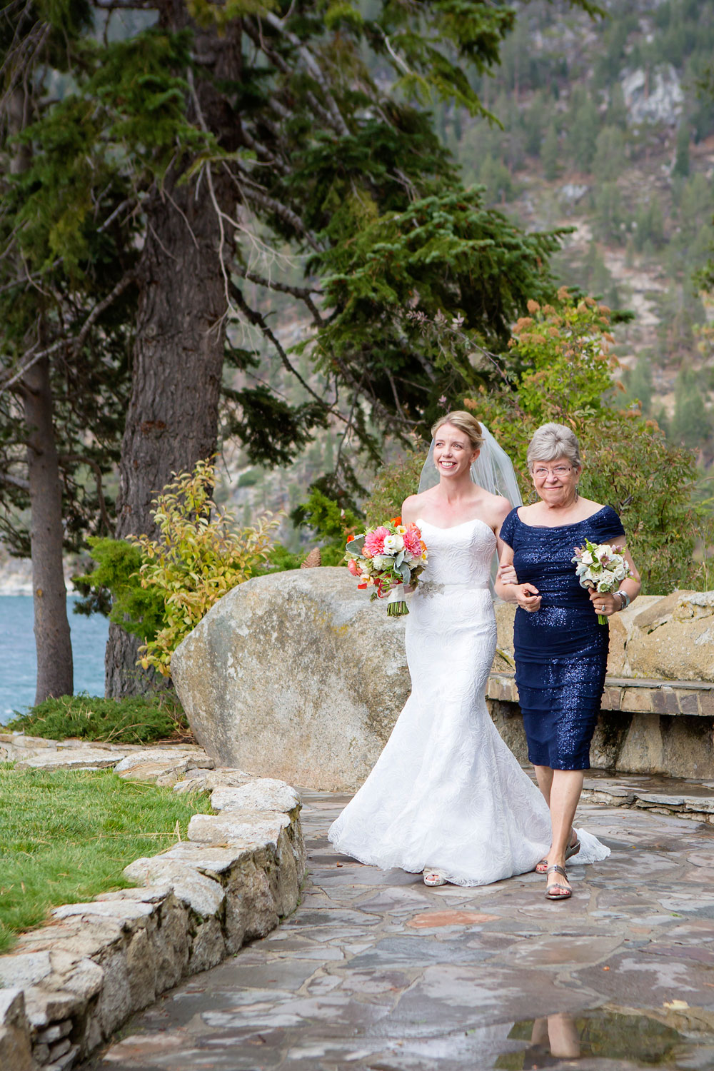 A Mountain Wedding Soiree in Lake Tahoe, Nevada