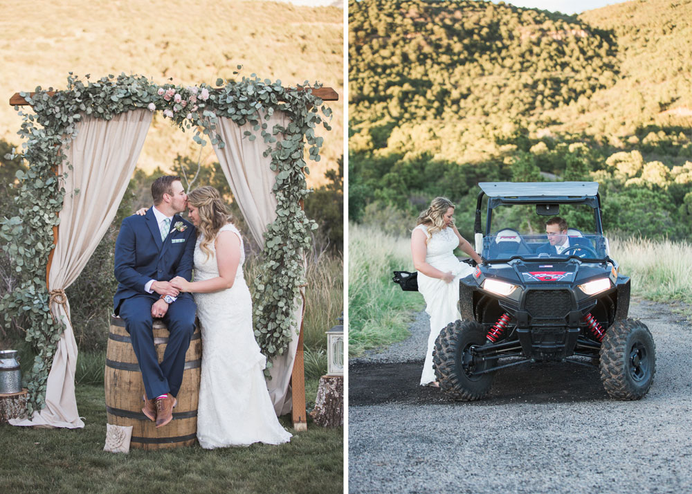 A Simple & Casual Wedding in Moab - Durango Weddings Magazine