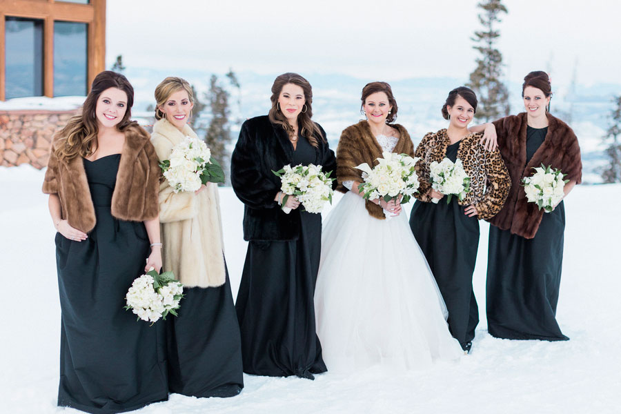 A Winter Wedding in the Rocky Mountains - Winter Park, Colorado