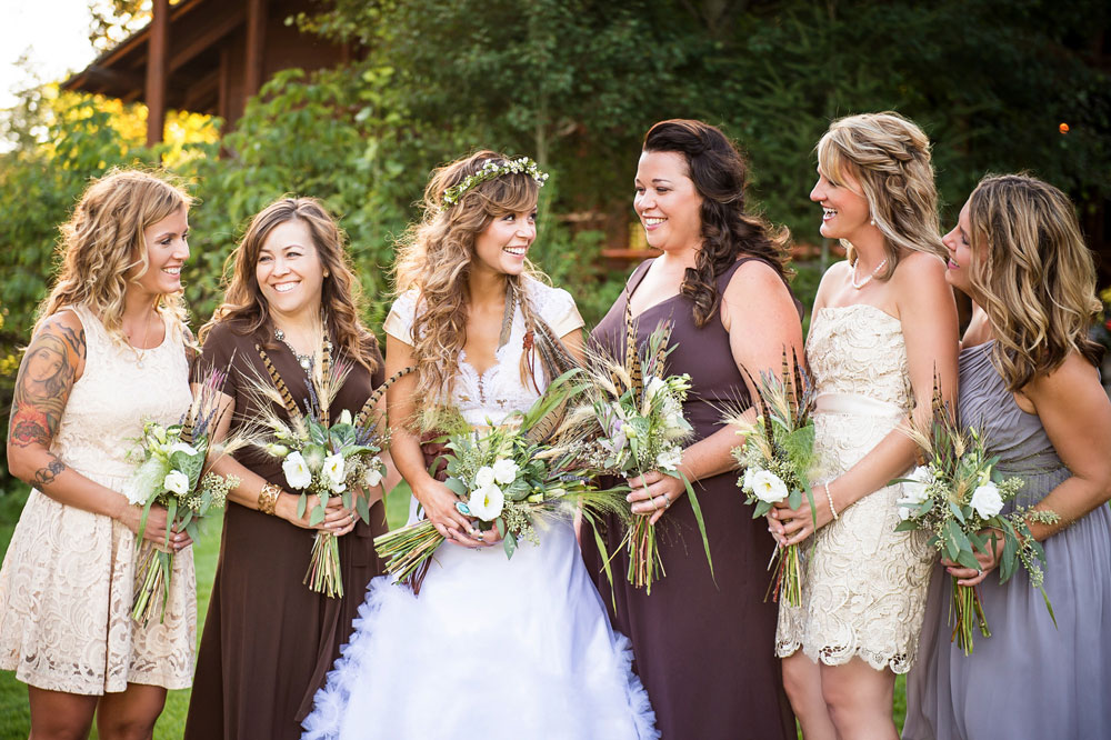 Refined Mountain Rustic Chic Wedding in Montana