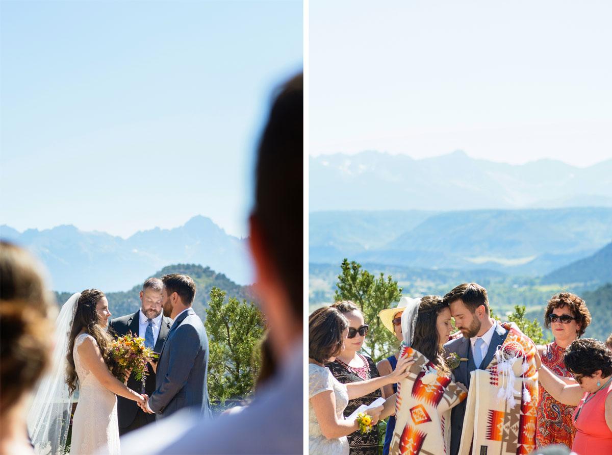 A Fall Rocky Mountain Teepee Wedding in Ouray, Colorado