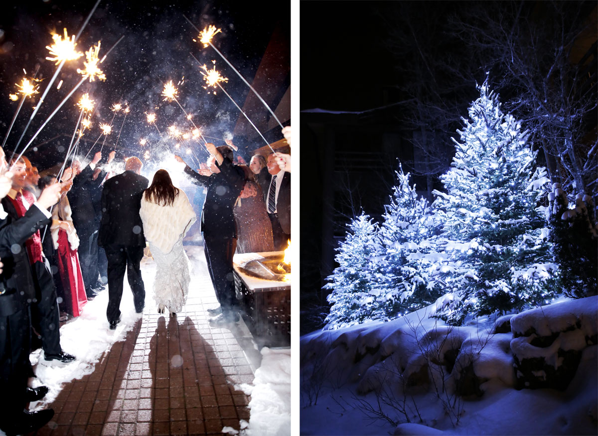 A Snowy Christmas Wedding in Utah