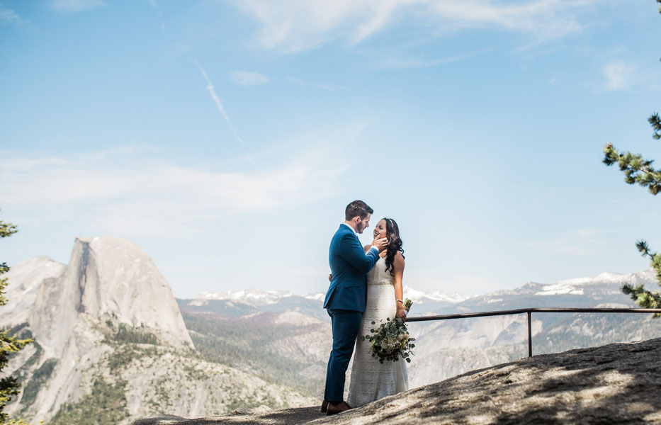 An Intimate Wedding in Yosemite National Park