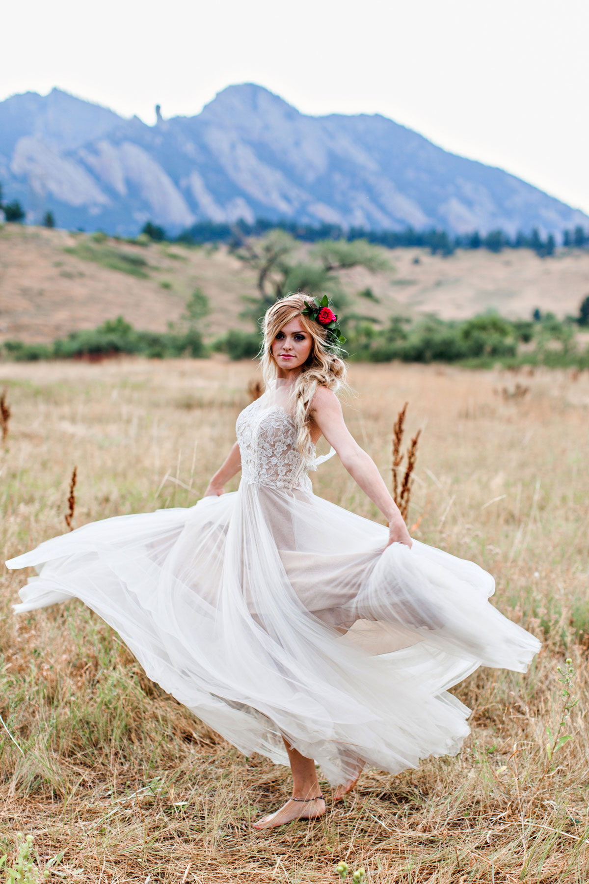 An Intimate Bohemian Elopement in Boulder, Colorado