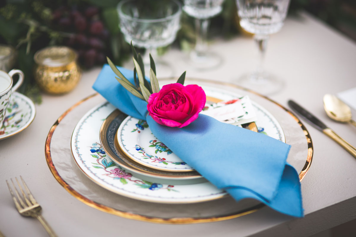 A Tuscan Romance Inspired Shoot