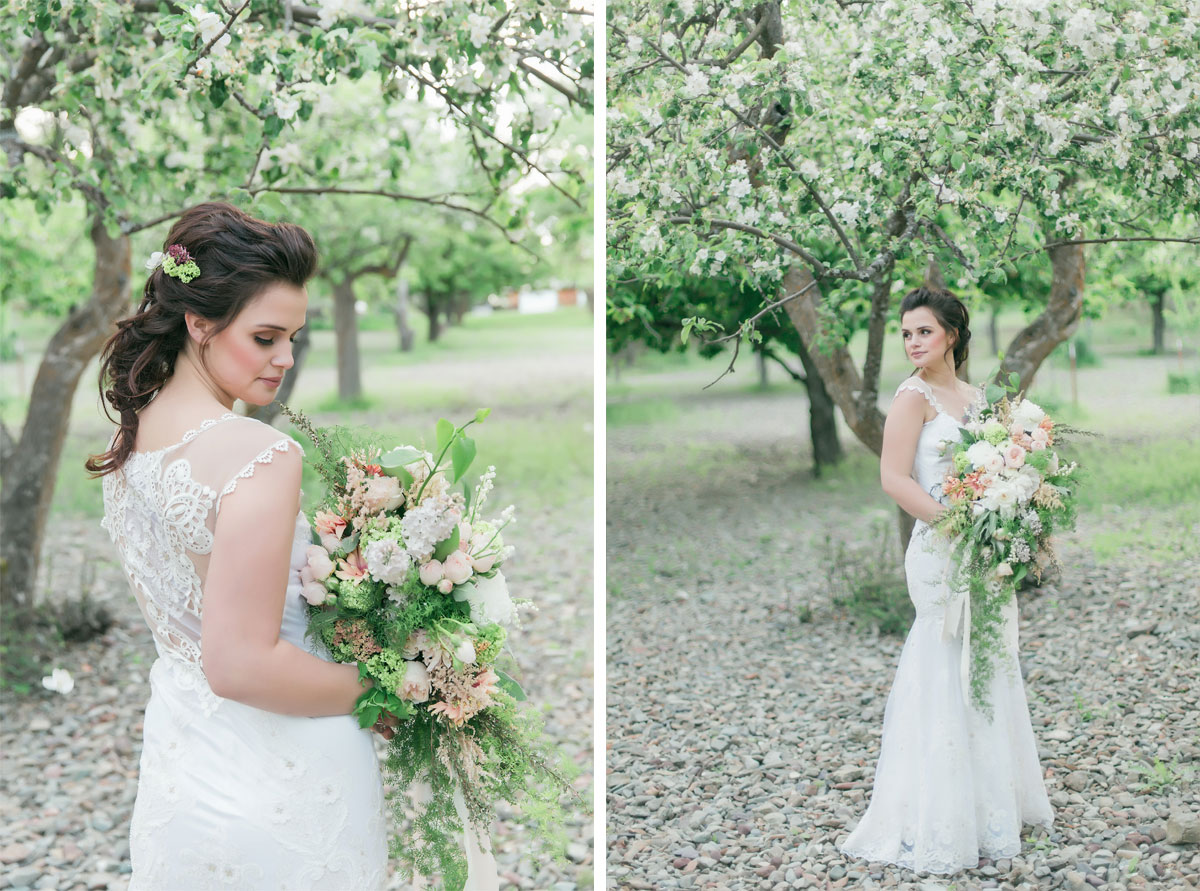 Soft, Dreamy, Romantic Spring Inspired Shoot in Montana
