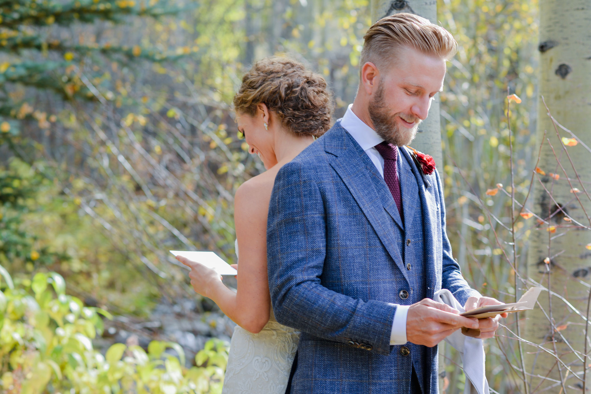 An Autumn Mountain Wedding in Beaver Creek