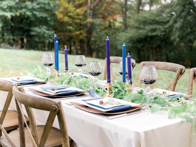 Blue Ridge Mountain Wedding Styled Shoot
