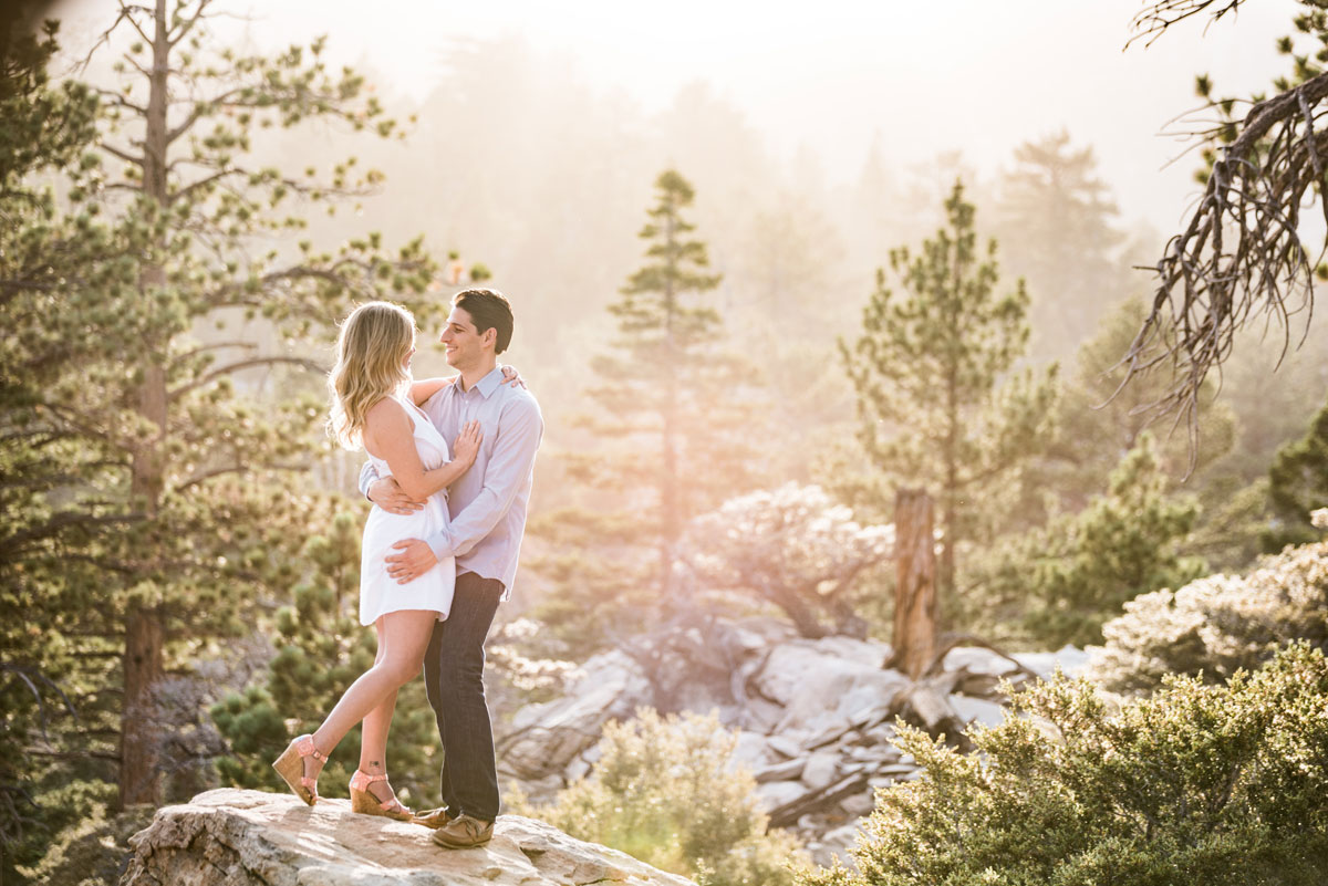 Mt San Jacinto California Engagement Session