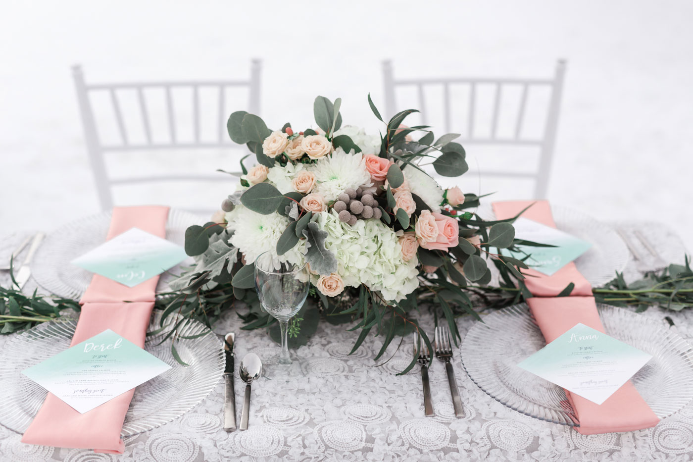 A Pastel Winter Wedding in the Canadian Rockies
