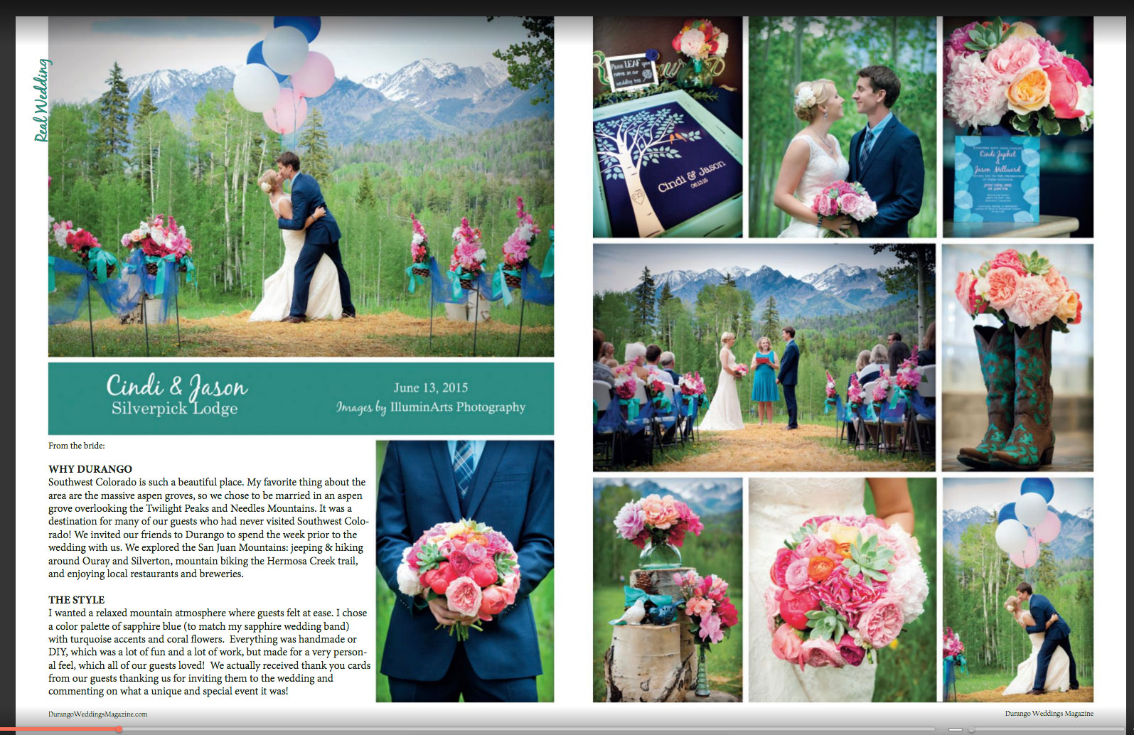 2015 Weddings at Silverpick Lodge