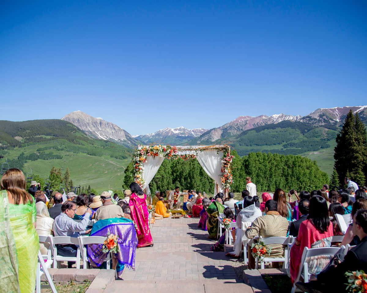 A Traditional Hindu Wedding in Crested Butte