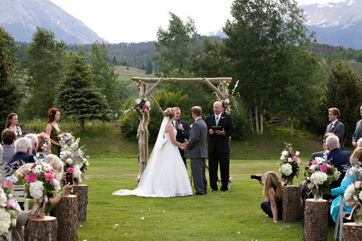 A Rocky Mountain Wedding at Silverthorne Pavilion