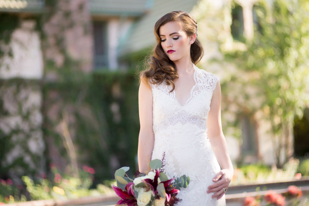 Art Deco Wedding Inspiration at Denver Botanic Gardens