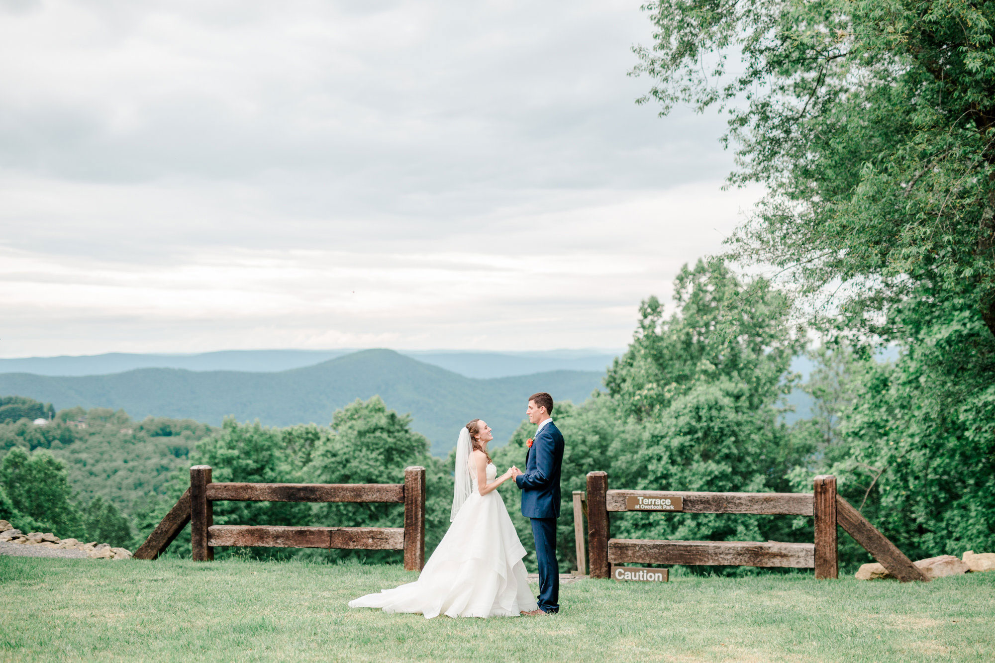 A Virginia Wedding with Incredible Mountain Views
