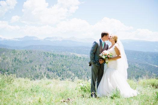 A Mountaintop Wedding