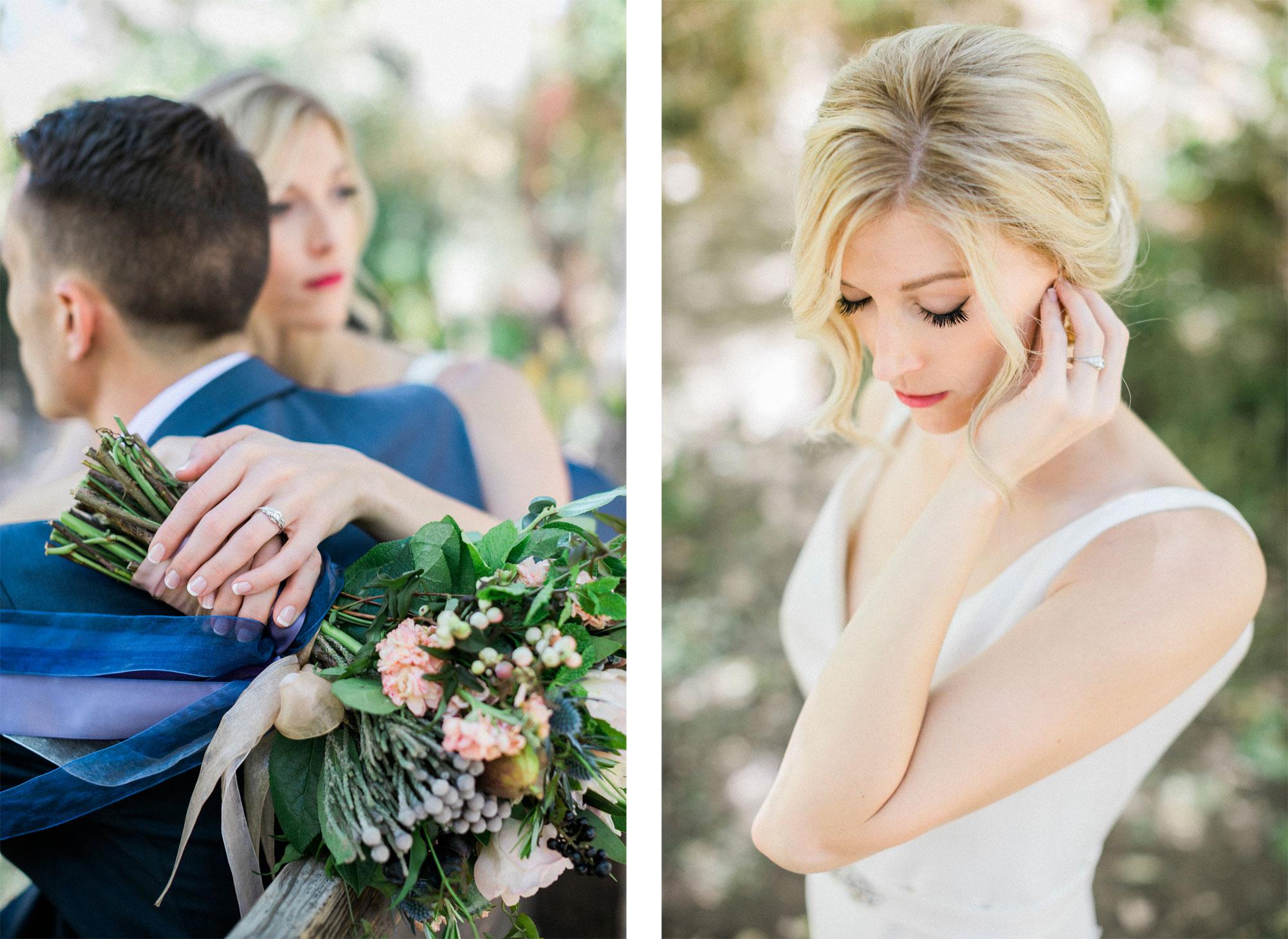 A Sophisticated Fall Garden Wedding in Colorado