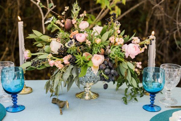 A Sophisticated Fall Garden Wedding Shoot in Colorado