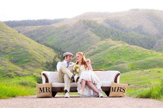 A Winter Ranch Wedding in Colorado