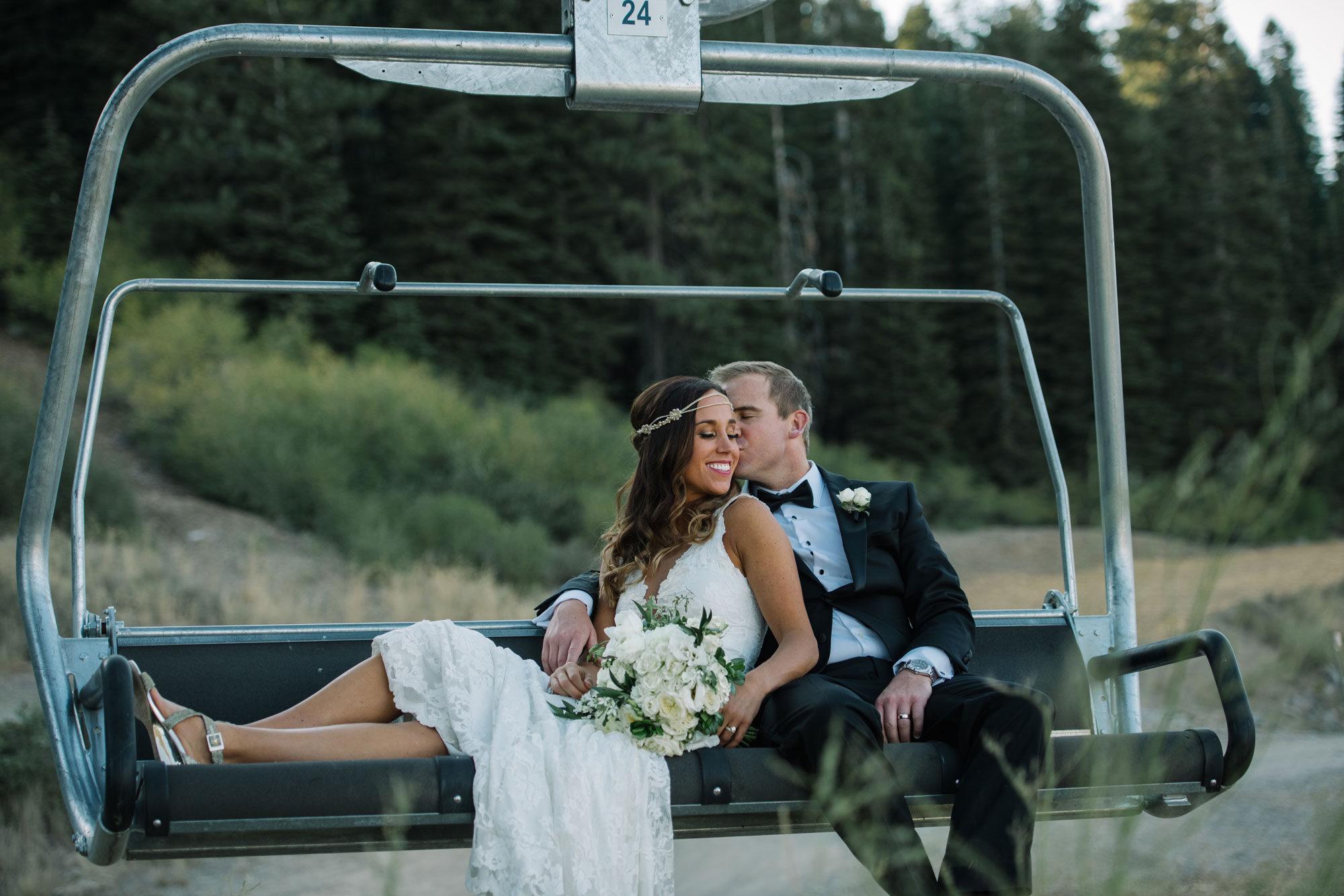 A Mountain Destination Wedding at Lake Tahoe