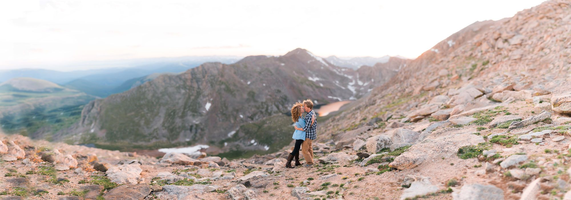 Breathtaking Engagement Session on Mount Evans, Colorado
