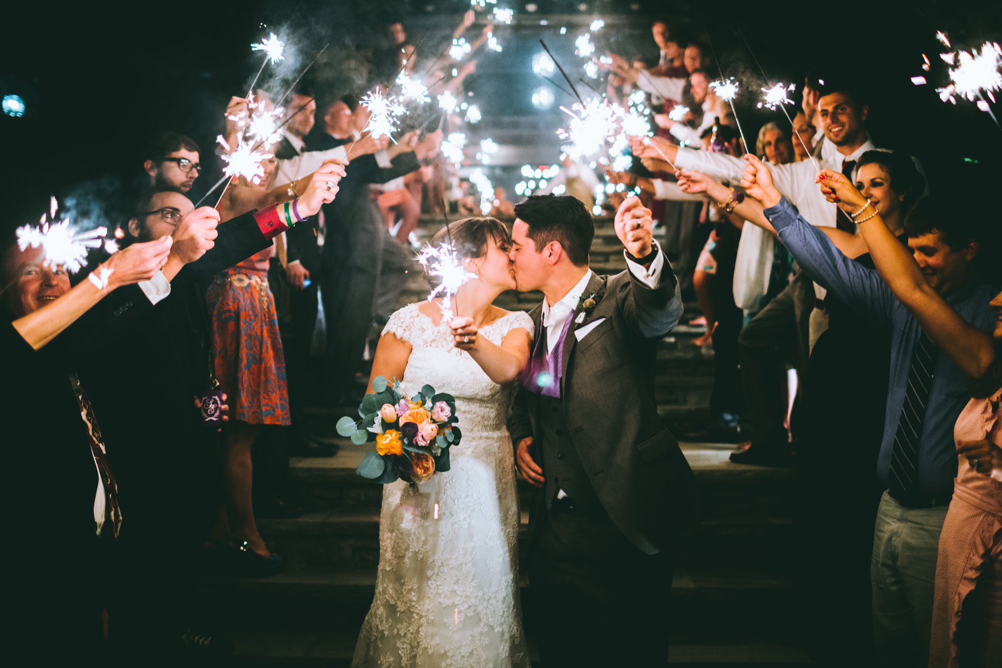 A Romantic Mountain Wedding in North Carolina